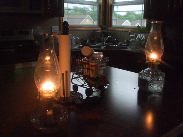 FlashFiction Prompt lamps
